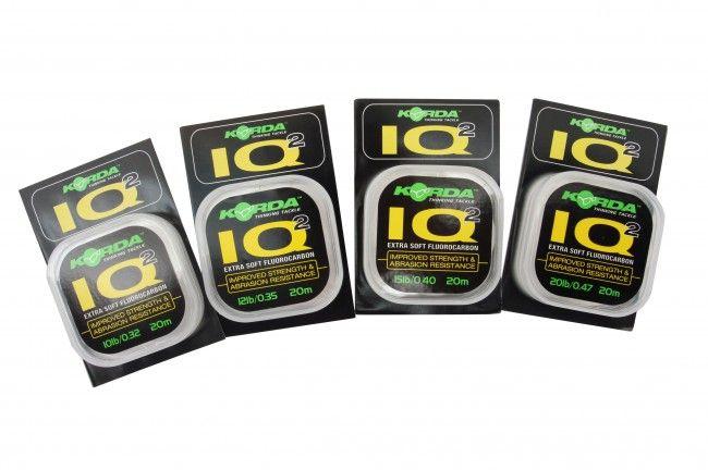 Korda IQ2 Extra Soft fluorocarbon előkezsinór