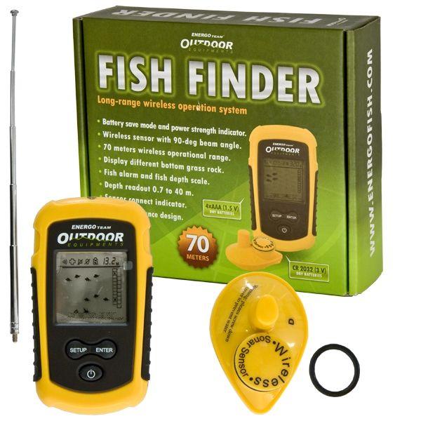 Fish Finder vezeték nélküli radar
